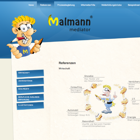 Malmann Mediator - Website