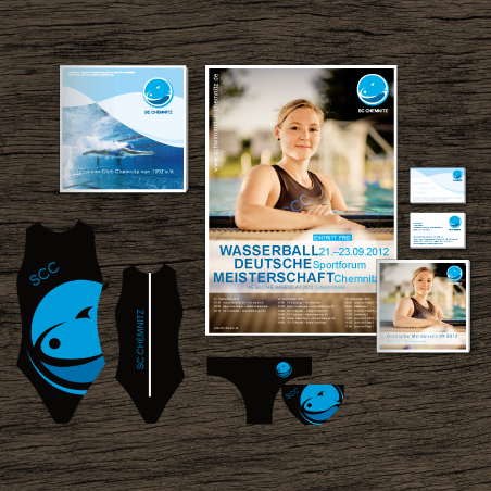 Schwimmclub Chemnitz - Corporate Design